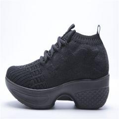 爱风尚广场健身鞋小燕子舞鞋-黑色