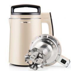 九阳(Joyoung)豆浆机0.9-1.3L预约三合一家用多功能304级不锈钢DJ13B-D79SG